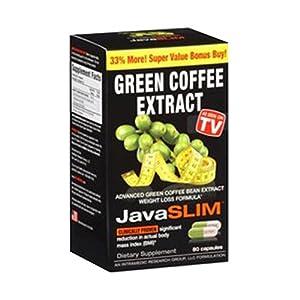 Intramedics Javaslim Green Coffee, 80 Count