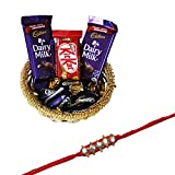 #7: Rakhi With Chocolates For Brother
