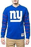 Mitchell & Ness Men's The New York Giants Cornerback Longsleeve Jersey