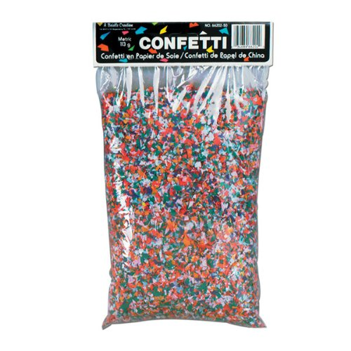 Tissue Confetti (multi-color) Party Accessory (1 count) (3¾ Qts/Pkg)