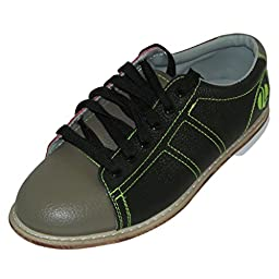 Linds Mens 300 Classic Glow Bowling Shoes- Laces (10 M US, Red/Blue)