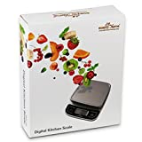 Easy@Home Digital Multifunction Kitchen and Food Scale with High Precision to 0.01oz and 11 lbs capacity, EKS-202