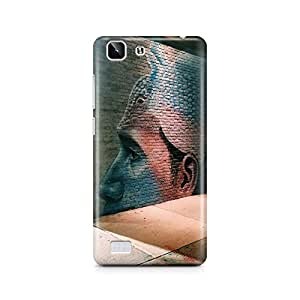 Motivatebox - Amazing Human Wall Art Vivo X5 cover - Matte Polycarbonate 3D Hard case Mobile Cell Phone Protective BACK CASE COVER. Hard Shockproof Scratch-Proof Accessories
