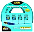 "Amflo 12-100E Blue 300 PSI Polyurethane Air Hose 1/4"" x 100' With 1/4"" MNPT Swivel Ends And Bend Restrictor Fittings from Amflo"