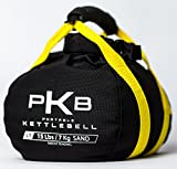 Kettlebell Set - The Best Exercise Equipment For Your Workout - Adjustable Kettlebells - Portable Weights - Soft Kettle Bell - Weight Set For Fitness - SATISFACTION GUARANTEE! (Yellow, 0-15 lbs)