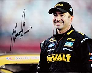 Buy AUTOGRAPHED 2013 Marcos Ambrose #9 DEWALT STANLEY RACING (Pre-Race) NASCAR SIGNED 8X10 Glossy Photo by Trackside Autographs