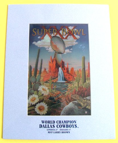 Super Bowl XXX World Champion Dallas Cowboys Lithograph at Amazon.com