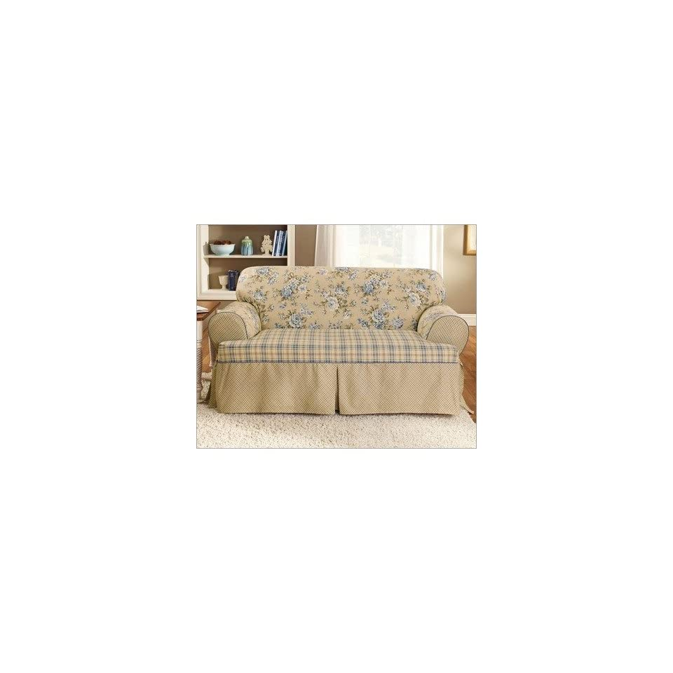 Brilliant Lexington T Cushion Loveseat Slipcover On Popscreen Ncnpc Chair Design For Home Ncnpcorg