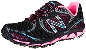 New Balance Womens Trail Running Shoes WT810BP3 Black/Pink 6 UK, 39 EU