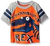 Gerber Graduates Boys Short Sleeve Raglan T-Shirt, Dinosaur, 3T