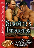 Summer's Indiscretion [Divine Creek Ranch 7] (Siren Publishing Menage Everlasting) (The Divine Creek Ranch)