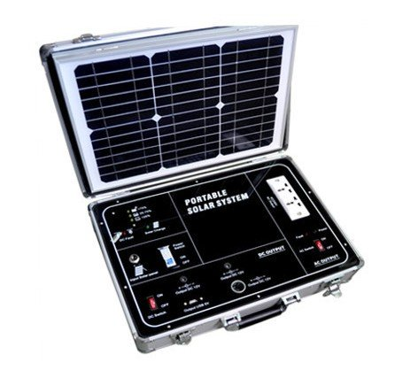 Gowe® 500W Ac Portable Solar Power System With 110V Modify Inverter And 38W Solar Panel