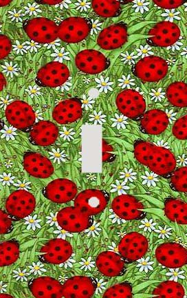 Ladybug Collage Collage Decorative Switchplate Cover