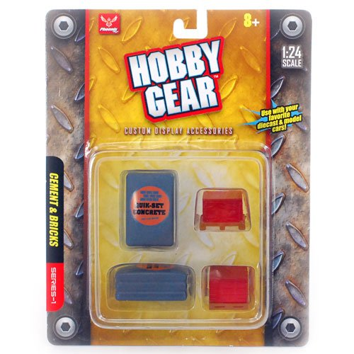 """Hobby Gear"" Cement and Bricks Series-1"