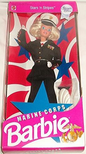 Stars 'n Stripes Marine Corps Barbie