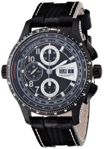 Hamilton H76686735 - Reloj de pulsera hombre, piel