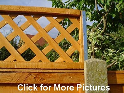 POSTFIX Trellis Fence Height Extension Arms PAIR