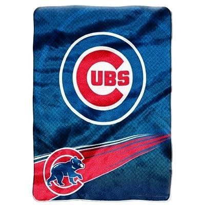 Chicago Cubs Oversize Plush Blanket