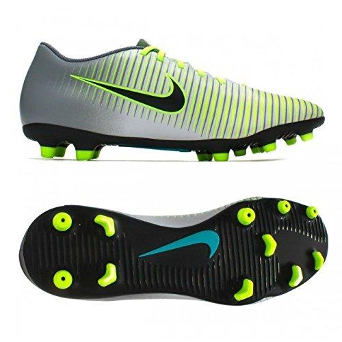 Nike Uomo Mercurial Vortex Iii Fg scarpe da calcio argento Size: 42