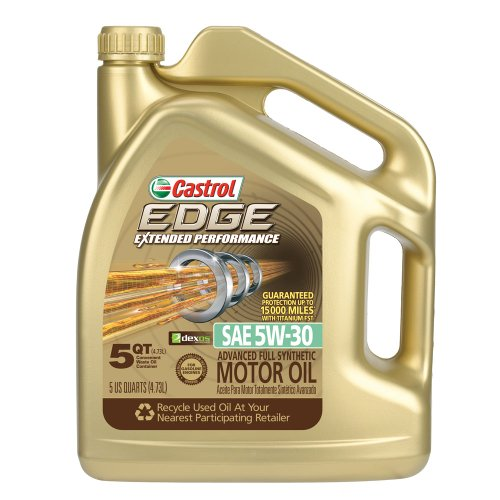 Castrol 03087 EDGE Extended Performance 5W-30 Synthetic Motor Oil - 5 Quart (Castrol Synthetic Engine Oil compare prices)