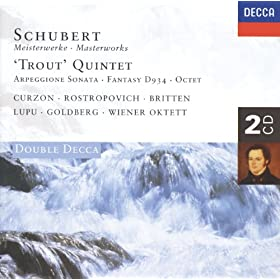 Schubert: Fantasia in C, for Violin and Piano D.934 - 3. Andantino