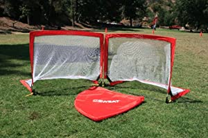 Buy 6' PortaGol - Squared Pop Up Goal By Sweat Sports - (48 x 72 x 48-Inch) by Sweat