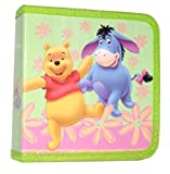 Disney Winnie The Pooh & Tigger Cd Dvd Holder Wallet : Under Rainbow