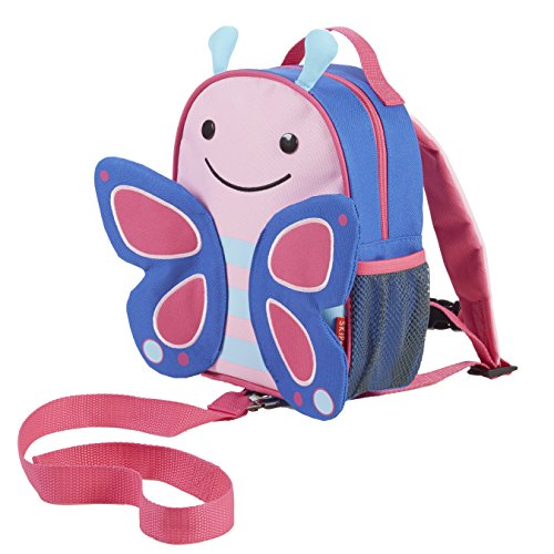 Skip Hop Zoo Little Kid and Toddler Safety Harness Backpack, Blossom Butterfly (Skip Hop Harness compare prices)
