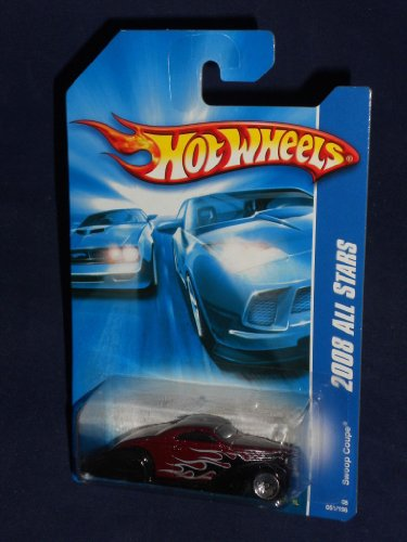 Hot Wheels 2008 All Stars SWOOP COUPE Burgandy and Black Special MINT 051