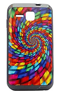Generic Back Case for Micromax Bolt S301 (Multicolor)