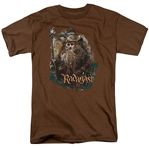 The Hobbit Desolation of Smaug Movie Radagast The Brown Adult T-Shirt Tee