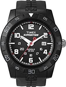 Timex Expedition Fullsize Rugged Core Analog Watch T49831SU With Black Resin Strap
