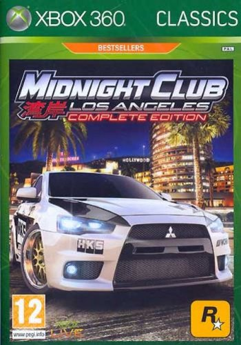 Midnight Club 4 L.A. Compl. XB360 AT