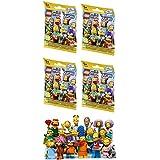 4 Packs LEGO Minifigures The Simpsons SERIES 2 71009 Figure Building Kit