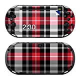 PS VITA(PCH-2000��p)�X�L���V�[���yRed Plaid�z