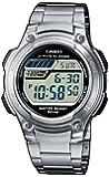 Casio - W-212HD-1A - Sports - Montre Mixte - Quartz Digital - Cadran LCD - Bracelet Acier Gris
