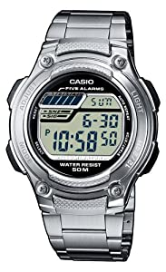 Casio Five Alarms Digital watch for men With Illumination