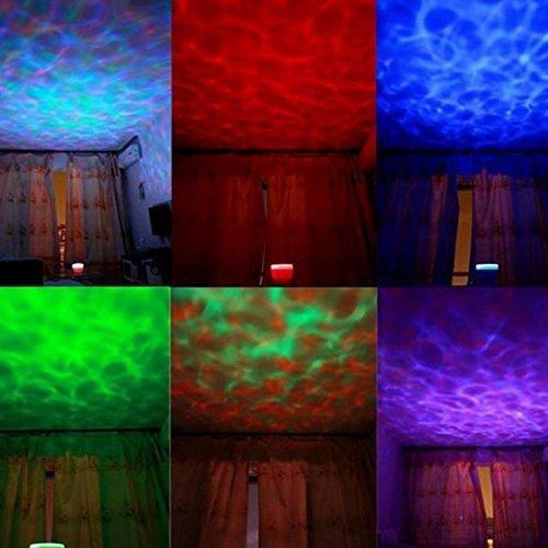 ozean dynamischen schlaf nachtlicht lampen ozean wellen lampe mit musik f r schlafzimmer. Black Bedroom Furniture Sets. Home Design Ideas