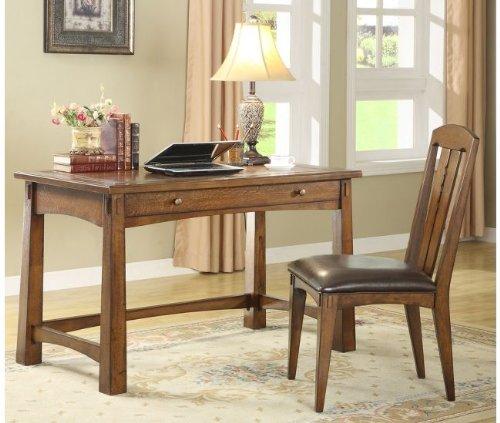 Writing Desk by Riverside - Americana Oak (2927)