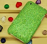 ZAFOORAH® - GLITTER ZIRCONIA DIAMANTE / DIAMOND Designer Case Cover Fits iPhone 3 3G S 3GS 8GB 16GB 32GB including Free Screen Protector (Green)