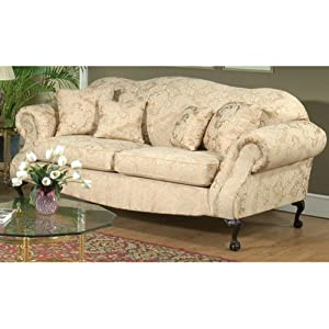 Chelsea 2000-S-MS Queen Elizabeth Sofa - Madison Straw by Chelsea Home Furniture Inc