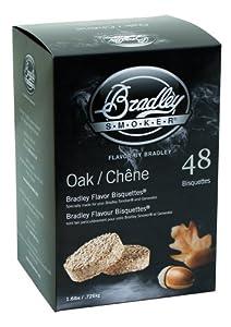Bradley Smoker Oak Flavoured Bisquettes