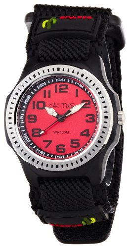 [Cactus] CACTUS kids watch black CAC-45-M07 boys [regular imports]