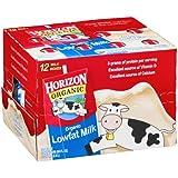 Horizon Organic Lowfat Milk 8-Oz (Pack of 12)