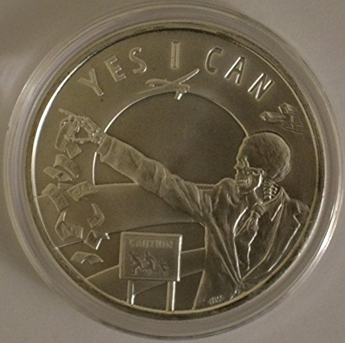 2014 Seven Sins of Obama - Silver Bullet Silver Shield 1 Oz Round BU