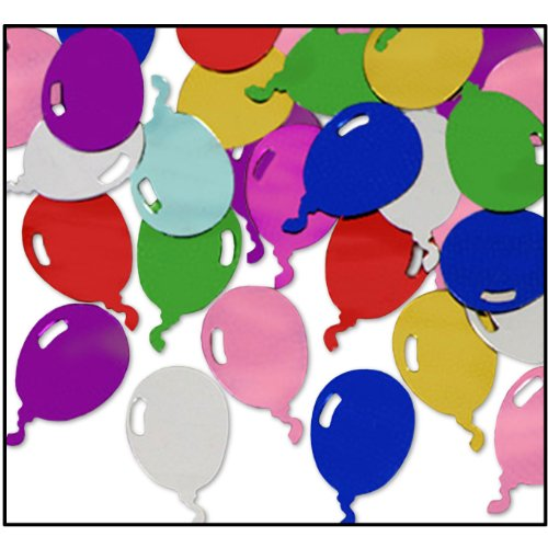 Fanci-Fetti Balloons (multi-color) Party Accessory  (1 count) (1 Oz/Pkg)