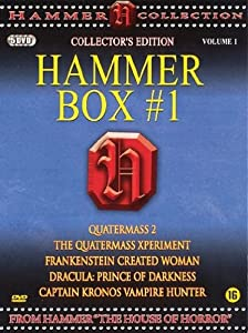 Hammer Box #1 - 5-DVD Box Set ( Quatermass II / The Quatermass Xperiment / Frankenstein Created Woman / Dracula: Prince of Darkness / Captain Kronos - Vampire Hunter ) ( Quatermass 2 (Quatermass Two: Enemy from Space) / The Quatermass Exper