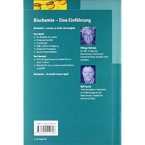 Biochemie: Eine Einführung mit 40 Lerneinheiten (Springer-Lehrbuch)