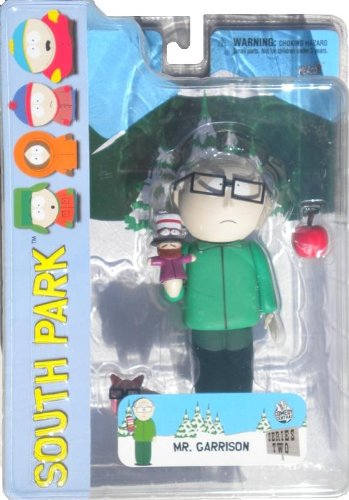 Picture of Mezco South Park Series 2Mr Garrison (frowning) Variant Figure (B0050KD9A8) (Mezco Action Figures)