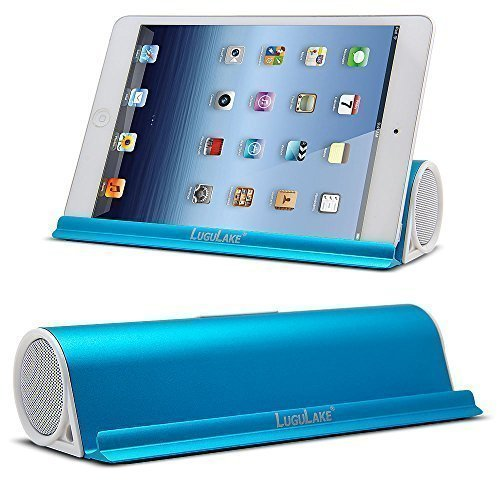 LuguLake Lug6338 Portable Wireless Speaker With Stand Dock